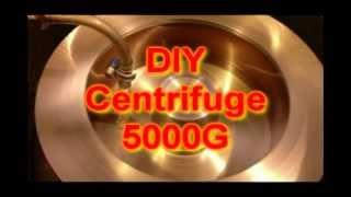 DIY 5000G Centrifuge