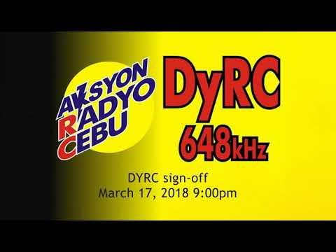 Dyrc Aksyon Radyo Cebu Sign Off 2018 Youtube