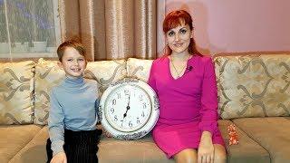 Как научить ребенка понимать время по стрелочным часам