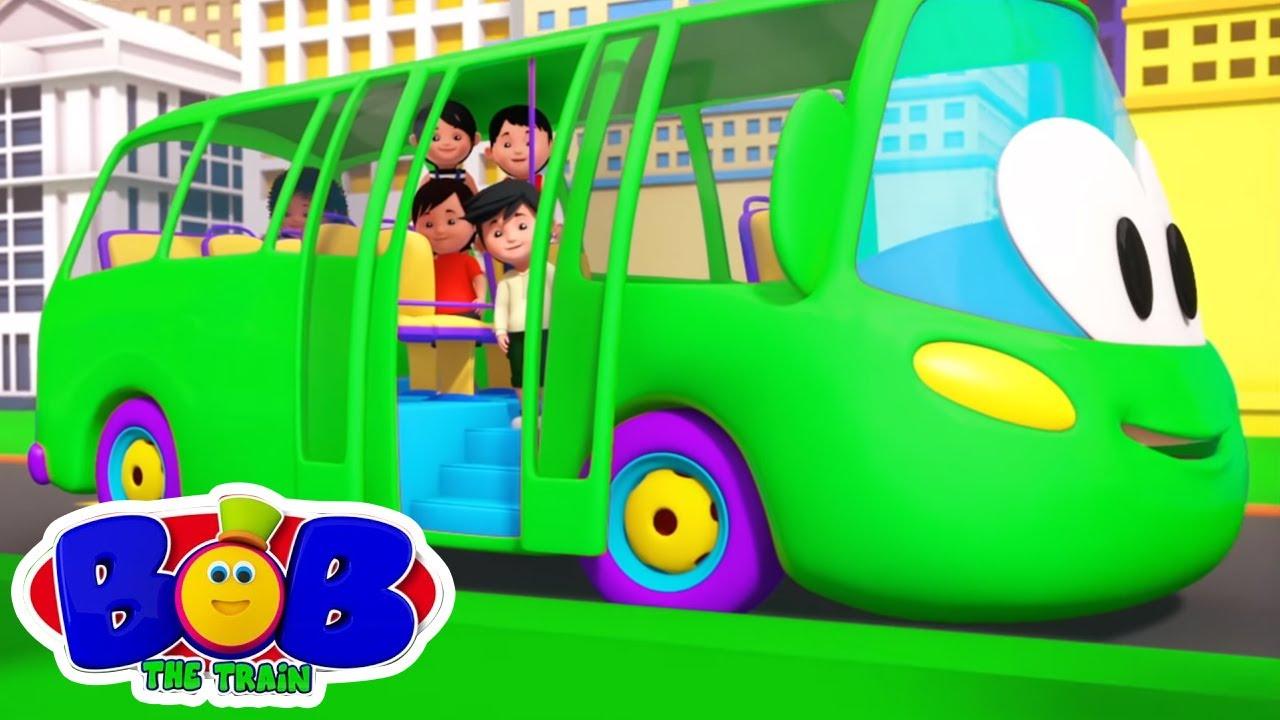 ล้อบนรถบัส | บทกวีสำหรับเด็ก | ก่อนวัยเรียน | Bob The Train Thailand | การ์ตูนเพื่อการศึกษา