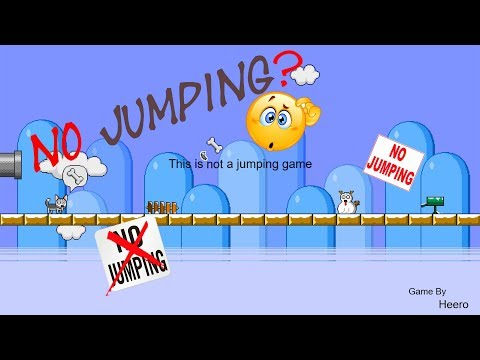 This is not a jumping game