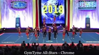 Gymtyme Chrome WORLDS DAY 1 2018