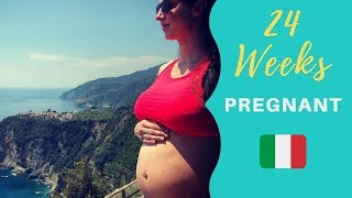 Tour Italy Pregnant  👶 Babymoon! 24 weeks pregnant