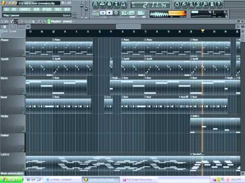 Cry me a river (Justin Timberlake) Instrumental FL Studio remake [FREE FLP DOWNLOAD]