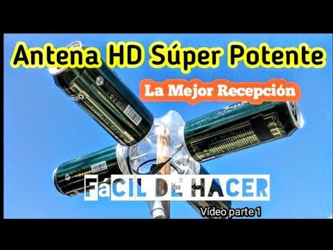 Antena Casera Hd Tdt Super Potente La Mejor Recepcion Parte 1