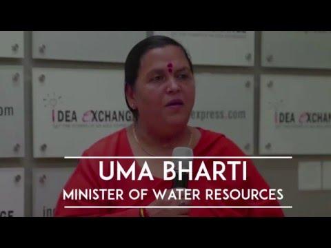 Idea Exchange With Uma Bharti