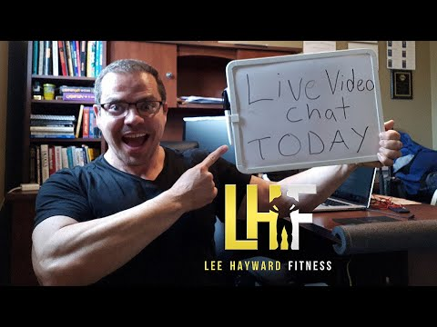 LIVE Q and A with Lee Hayward how to lose fat, build muscle, and get back in shape!