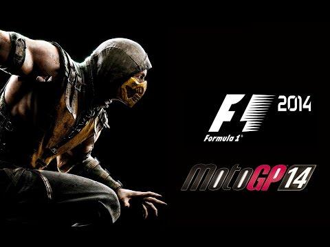 ZangadoEntrevista : Mortal Kombat X, F1 2014, MotoGP 14