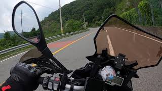 고프로8 천왕재 바이크 라이딩 영상 / 로드 : R12…