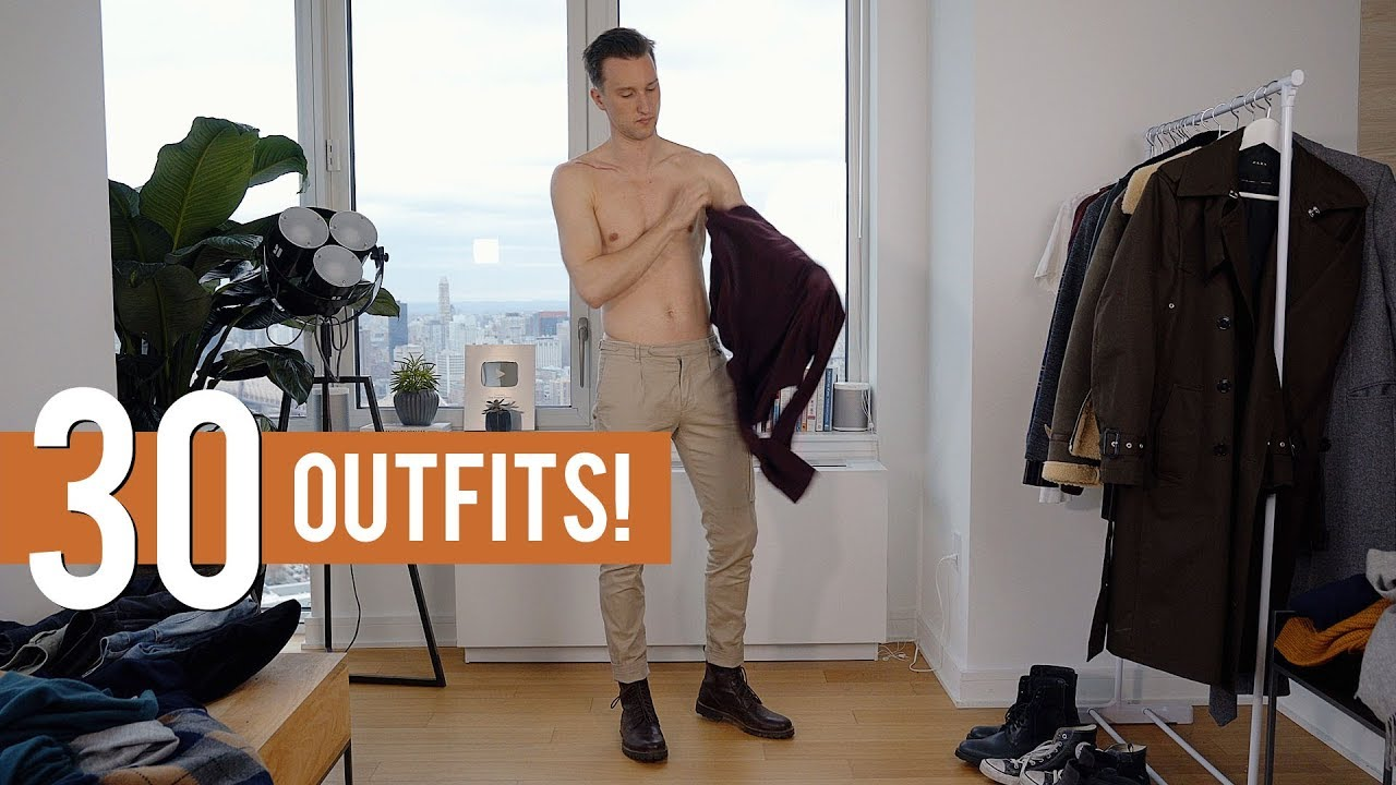 30 Stylish Men's Fall Winter Outfits | Men's FW18 Fashion Outfit Ideas