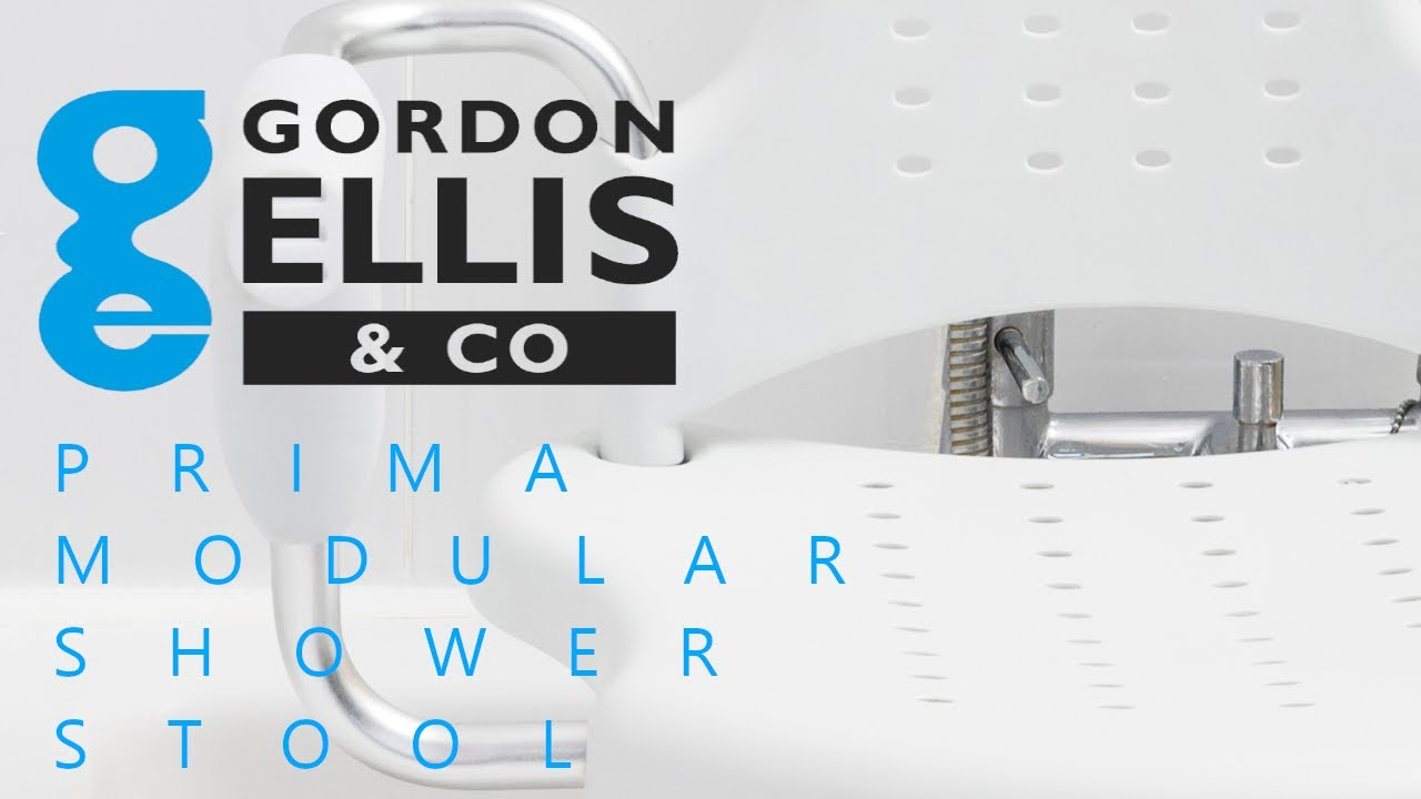 Prima Modular Shower Stool by Gordon Ellis & Co - YouTube