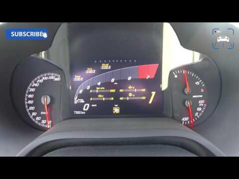 702 HP Corvette C7 Z06 2016 Acceleration 0-283 Km/h FAST! Autobahn Drive | CAPRISTO Exhaust By BBM