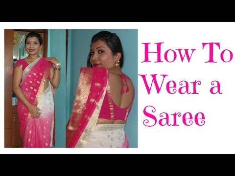 How to wear Saree Perfectly | Plus size women