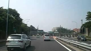 第三京浜(都筑インター)→横浜新道→横浜横須賀道路(馬堀海岸インター)