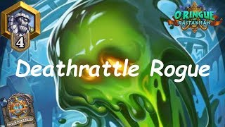 Hearthstone: NEW Deathrattle Rogue #2: Rastakhan's Rumble - Standard Constructed Post-Nerf