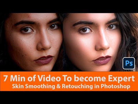 how to do skin smoothing in photoshop cc | Skin Smoothing Photoshop | Awesome photoshop retouching