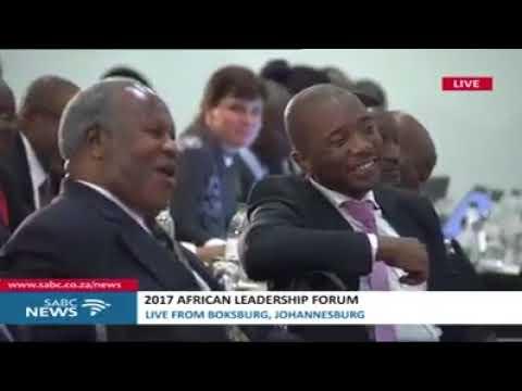 Rais Mstaafu Dkt Jakaya Kikwete akizungumza katika Mkutano wa African Leadership Forum.