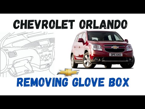 How To Remove The Glove Box On #Chevrolet Orlando