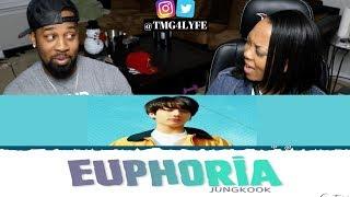 BTS JUNGKOOK – 'EUPHORIA' Lyrics [Color Coded_Han_Rom_Eng] - REACTION