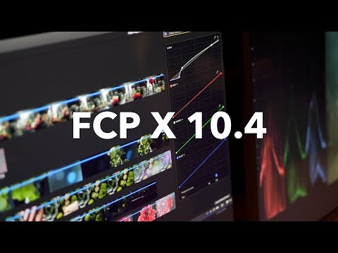 FCP X 10.4 Reveal (at the FCP X Creative Summit)