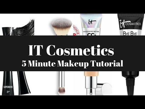 IT Cosmetics 5 Minute Makeup Tutorial