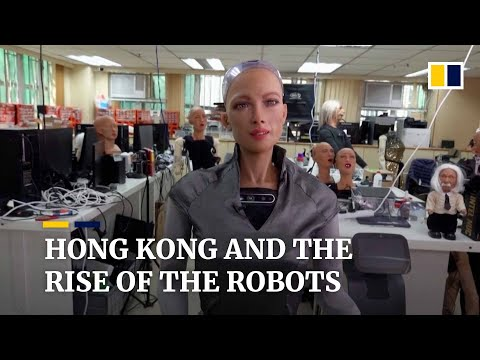 Hong Kong company aims to mass produce human-like robots for health care uses
