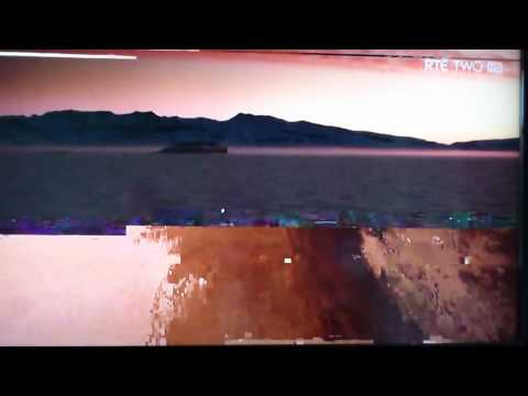 Glitchy saorview (freeview digital tv)