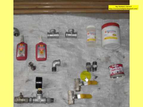Instalaciones de Gas Materiales y Herramientas  YouTube