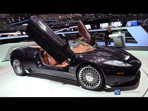 2017 Spyker C8 Preliator Spyder - Exterior Interior Walkaround - 2017 Geneva Motor Show