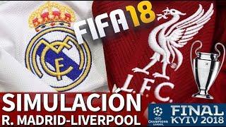 FIFA 18 | Real Madrid-Liverpool: Simulación de la Final de la Champions League 2018 | Diario AS