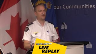 RCMP respond to erratic male