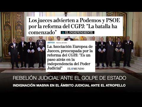 ¡REBELIÓN JUDICIAL MASIVA ANTE EL GOLPE DE ESTADO!