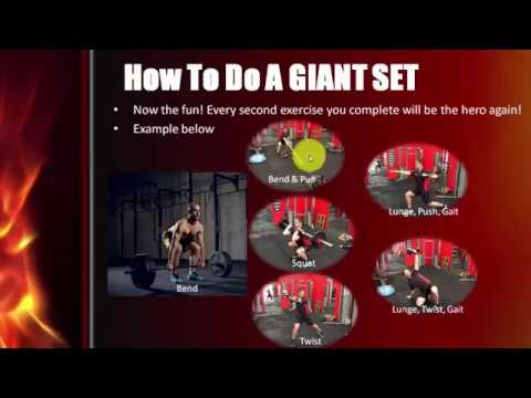 Use Giant Sets to Fire Up Your Workouts & Metabolic Rate