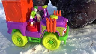 Крутая машина Джокера - игрушки для мальчиков
