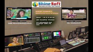 Shinesoft Playout Decklink IPTv Broadcasting Software 7373143143