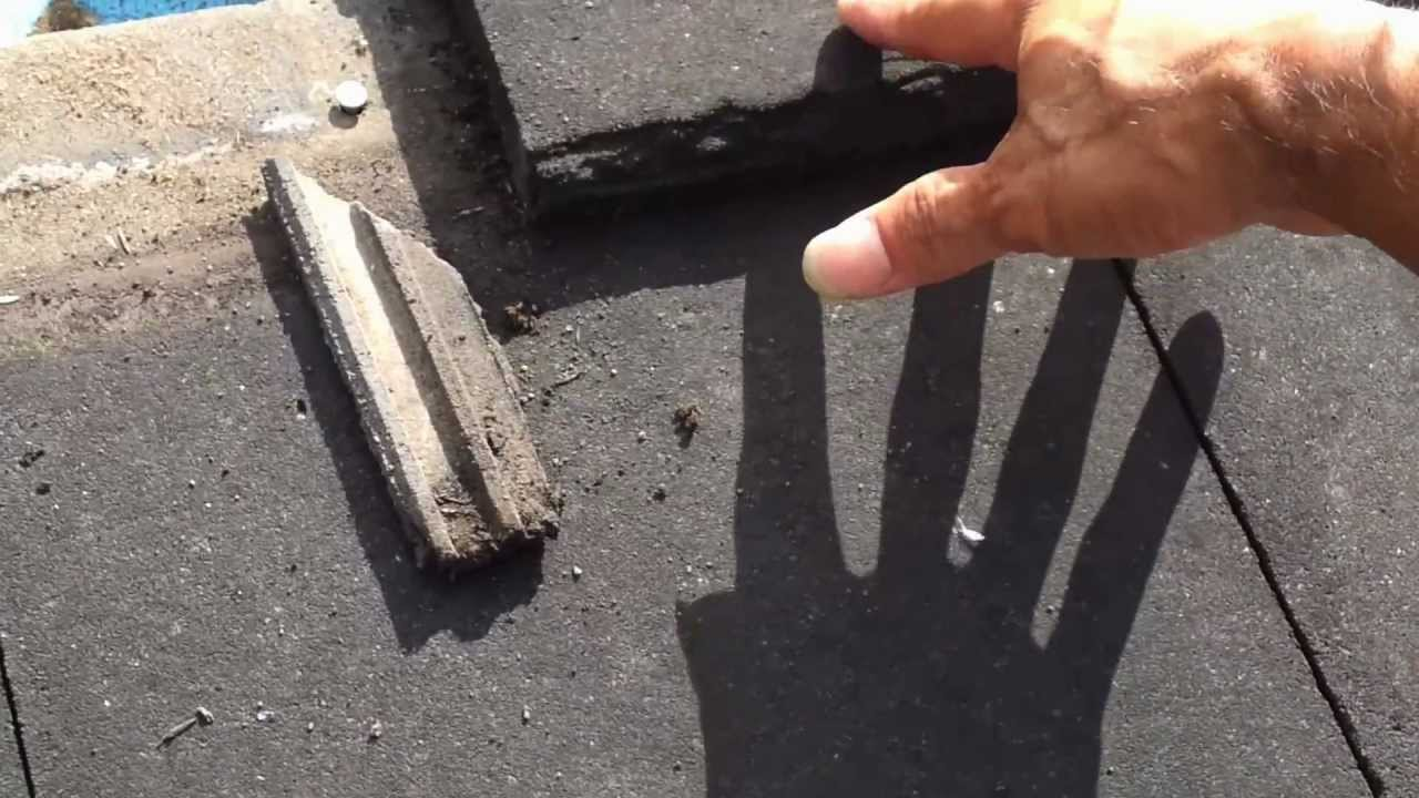 Leaking Roof Repair Sydney Leaks On Flat Concrete Tile