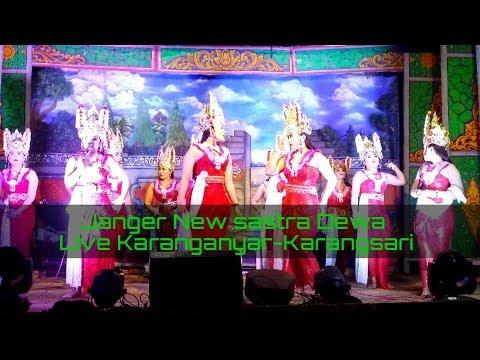 Janger Populer New Sastra Dewa Banyuwangi seling Berdendang - Live karanganyar - Karangsari