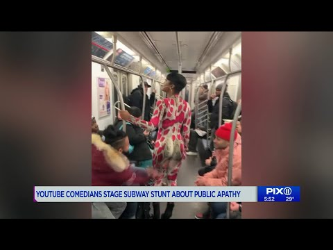 Shocking case of sexual harassment in NYC subway exposed as social experiment on apathy