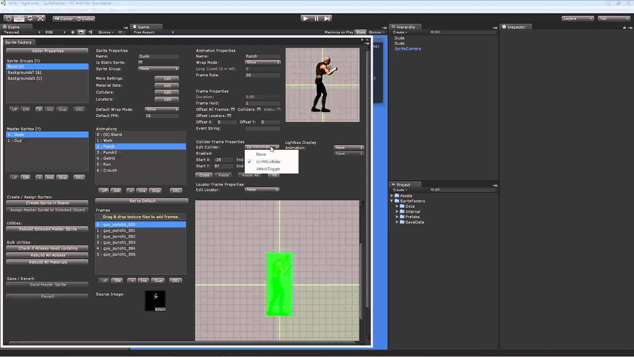 Sprite Factory - Sprite Animation System for Unity   Guavaman