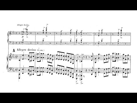 Gabriel Pierné - Piano Concerto Op. 12 (audio + sheet music)