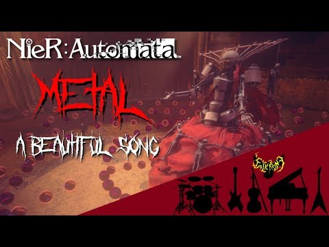 NieR: Automata - A Beautiful Song 【Intense Symphonic Metal Cover】