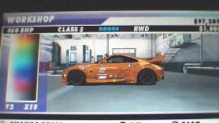PSP Juiced Eliminator ( tunning )