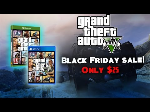 BLACK FRIDAY - GTA 5 Only $25! + RockStar Warehouse 40% off SALE!!