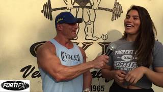 Laura Micetich From 300 lbs to train with Shawn Rhoden, Stanimal & Psychofitness at Golds Venice