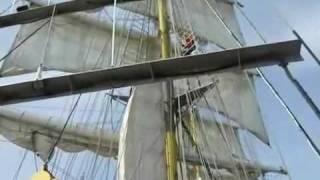Mercedes Tall Ship. Ex Fleetwood Beam Trawler Atlantic A FD75
