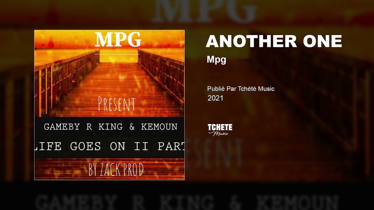 MPG - ANOTHER ONE