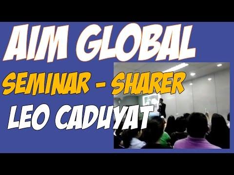 LEO CADUYAT - MILLIONAIRE OF BOHOL!  AIM GLOBAL SUCCESS TESTIMONY