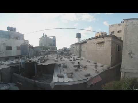 Gaza Refugee Camp in 3D