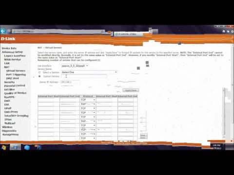 How to Configure Port Forwarding for Remote Desktop, FTP server and Web Server IIS 7 or 8