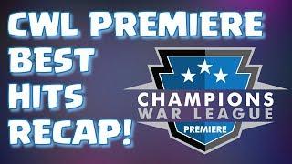 CWL PREMIERE - BEST HITS RECAP - SJONNIES VS KING JEFFREY | Mister Clash